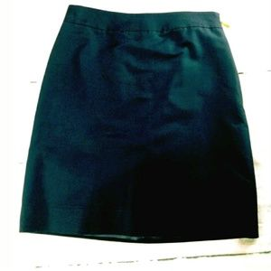 EUC Kate Spade Skirt the Rules navy pencil skirt